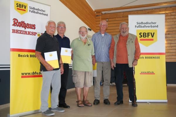 Ehrungstag SR 2021 - Bilder BSA Bodensee