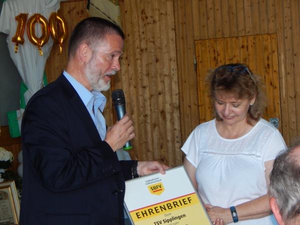 Festabend TSV Sipplingen - Bild Petra Huber