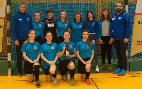 B-Juniorinnen-Sieger FV Baden-Oos